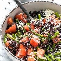 Black Rice Salad Recipe