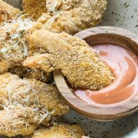 Baked Parmesan Chicken Tenders Recipe