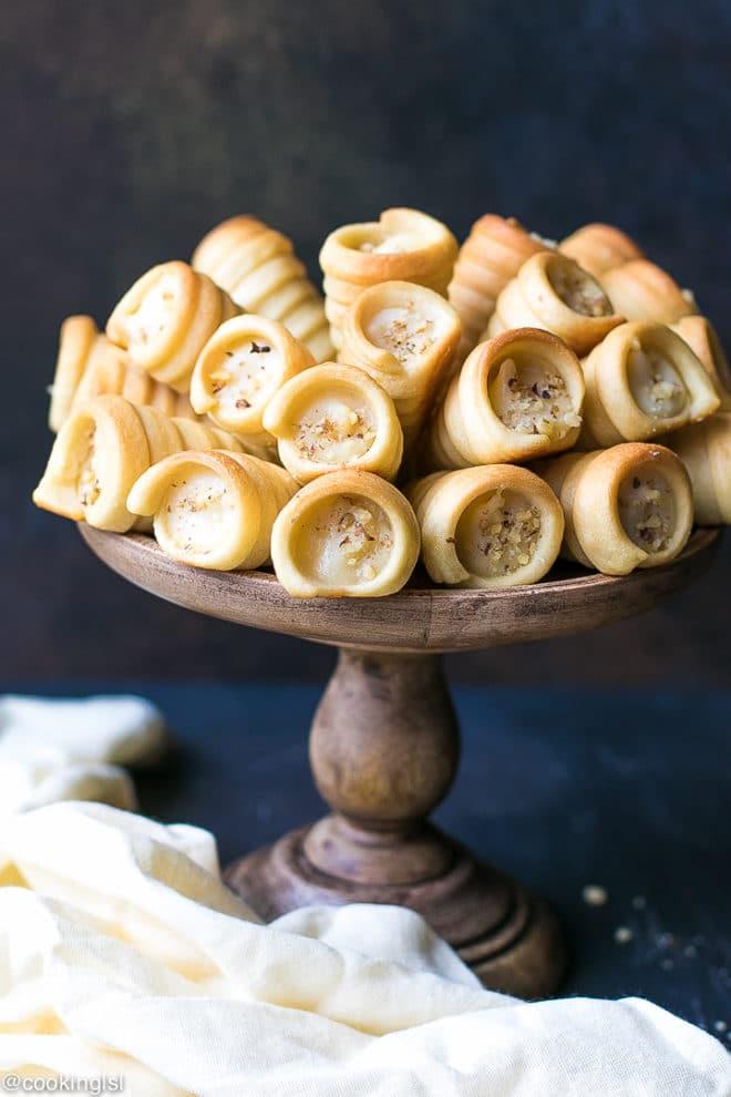 bulgarian horn cookies funnel cookies funiiki
