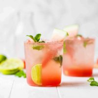 Watermelon Mojito Recipe IN GLASSES