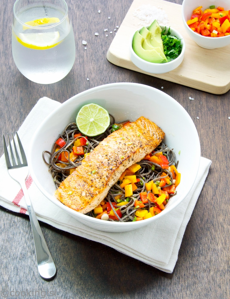 salmon-over-with-black-bean-spaghetti