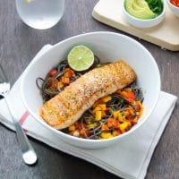pan-cooked-salmon-with-black-bean-pasta
