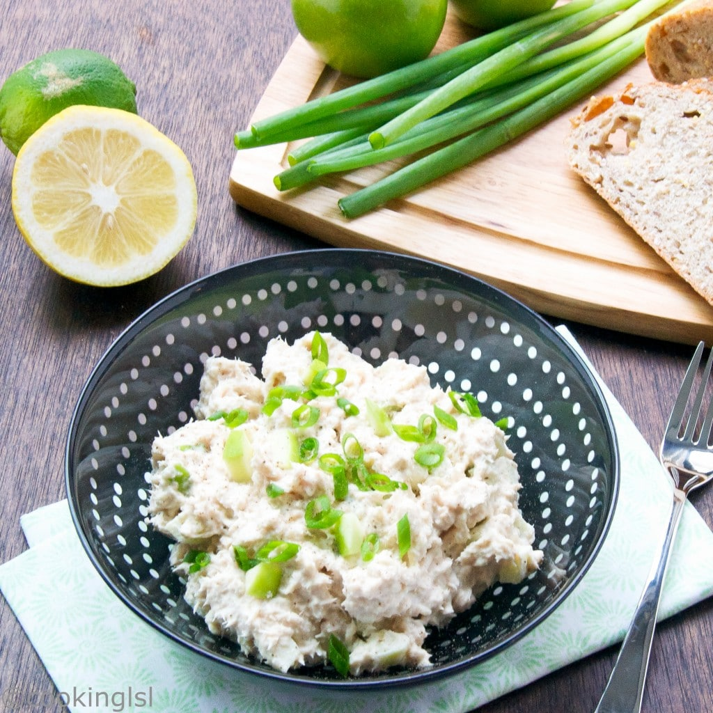 Tuna Salad With Green Apple
