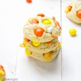 Candy-Corn-White-Chocolate-M&Ms-Cream-Cheese-Cookies