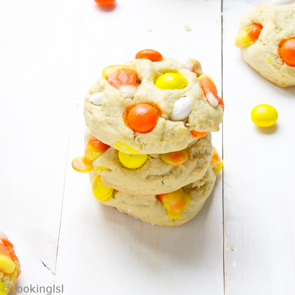 Candy-Corn-White-Chocolate-M&Ms-Cream-Cheese-Cookies
