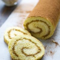 Tiramisu Cake Roll Recipe