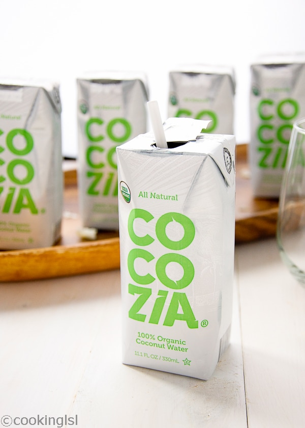 Cocozia Organic Natural Coconut Water Review