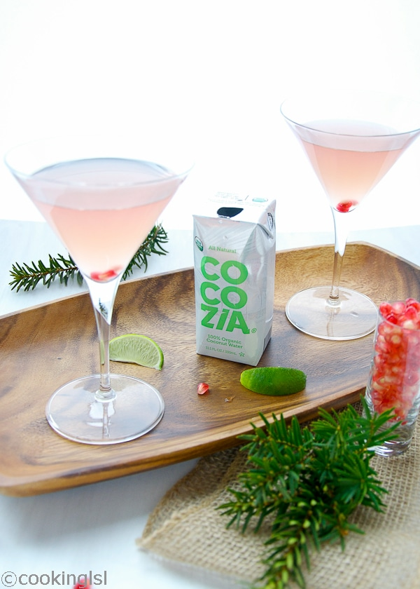 Cocozia Coconut Water Martini Recipe