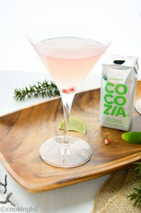 Cocozia Coconut Water Martini Recipe