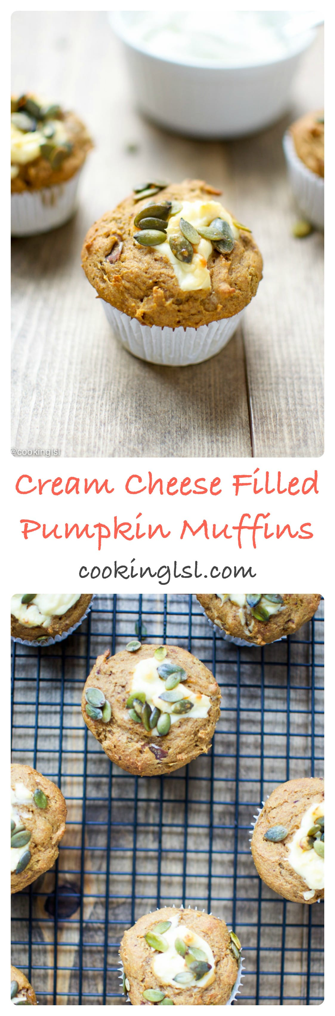 Cream-cheese-filled-pumpkin-muffins-naturally-sweetened