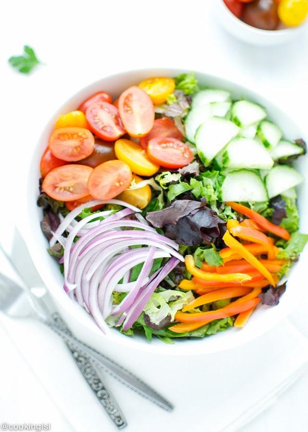 Greek Inspired Shrimp Salad