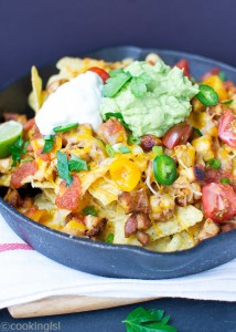 Chipotle Chicken {Copycat} And Nachos Recipe