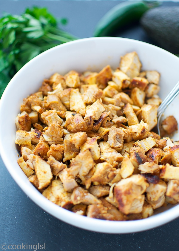 Chipotle Chicken Thighs marinade
