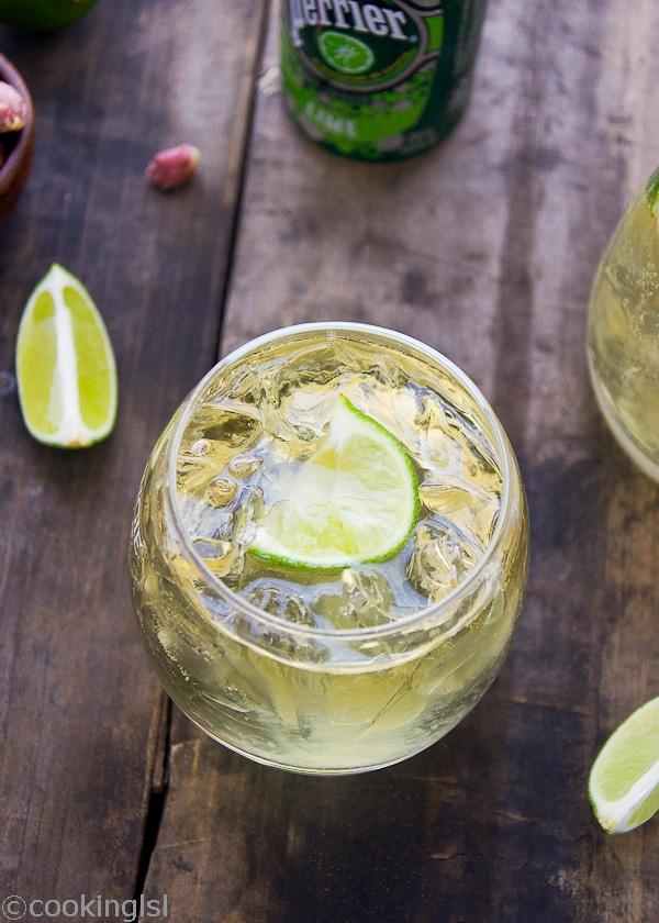 Whiskey Soda Sprite Cocktail