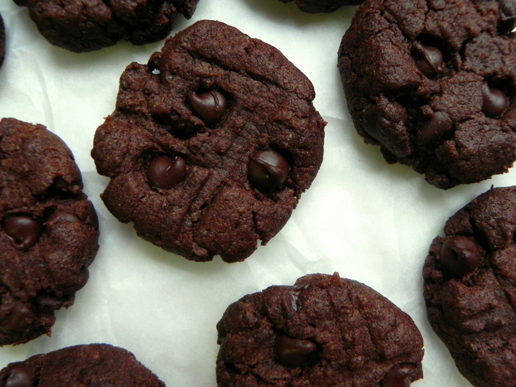 Chocolate-Flourless-Peanut-Butter-Cookies-Cearas-Kitchen-vegan-glutenfree