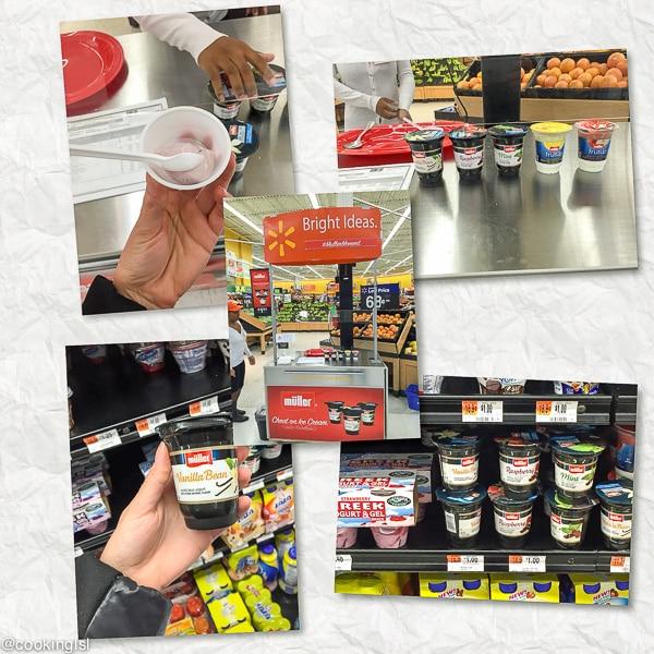 Muller®-Ice-Cream-Inspired-Yogurt-Walmart-Demo