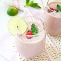 sweet-cherry-lime-smoothie