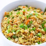 Very easy quinoa fried rice