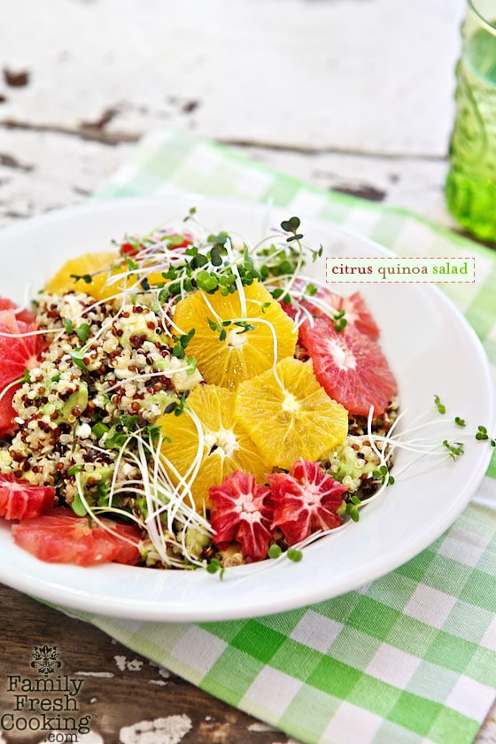 Citrus Quinoa Salad