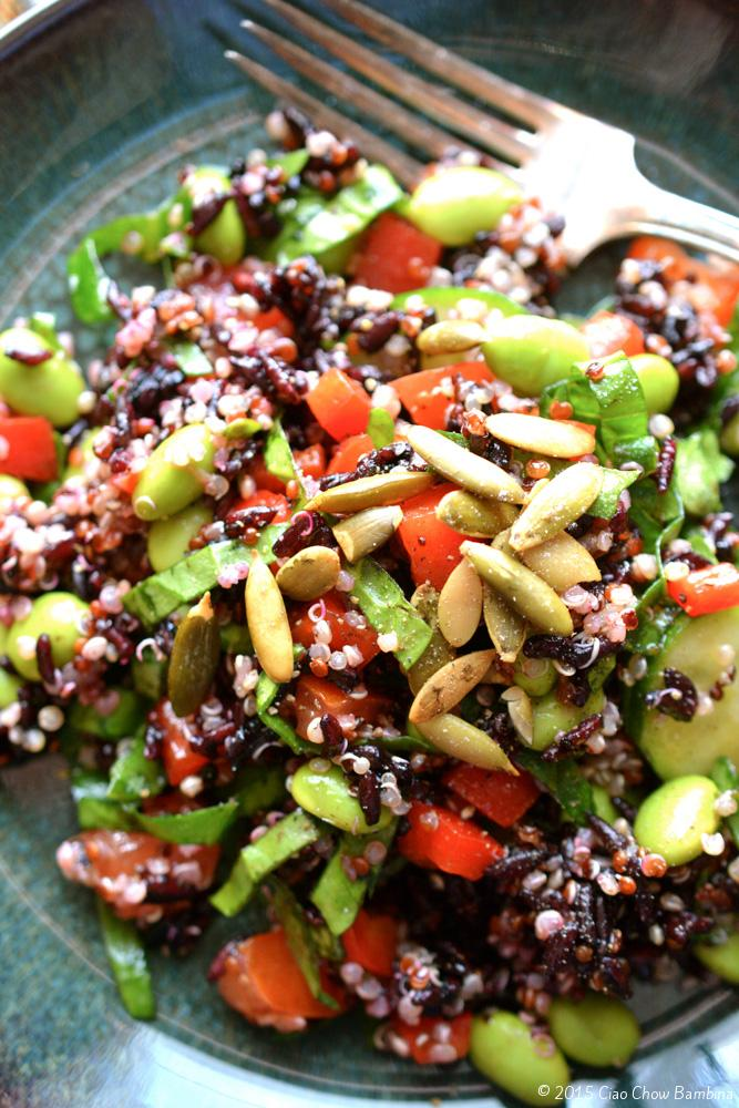 Quinoa-Edamame-and-Black-Rice-Salad