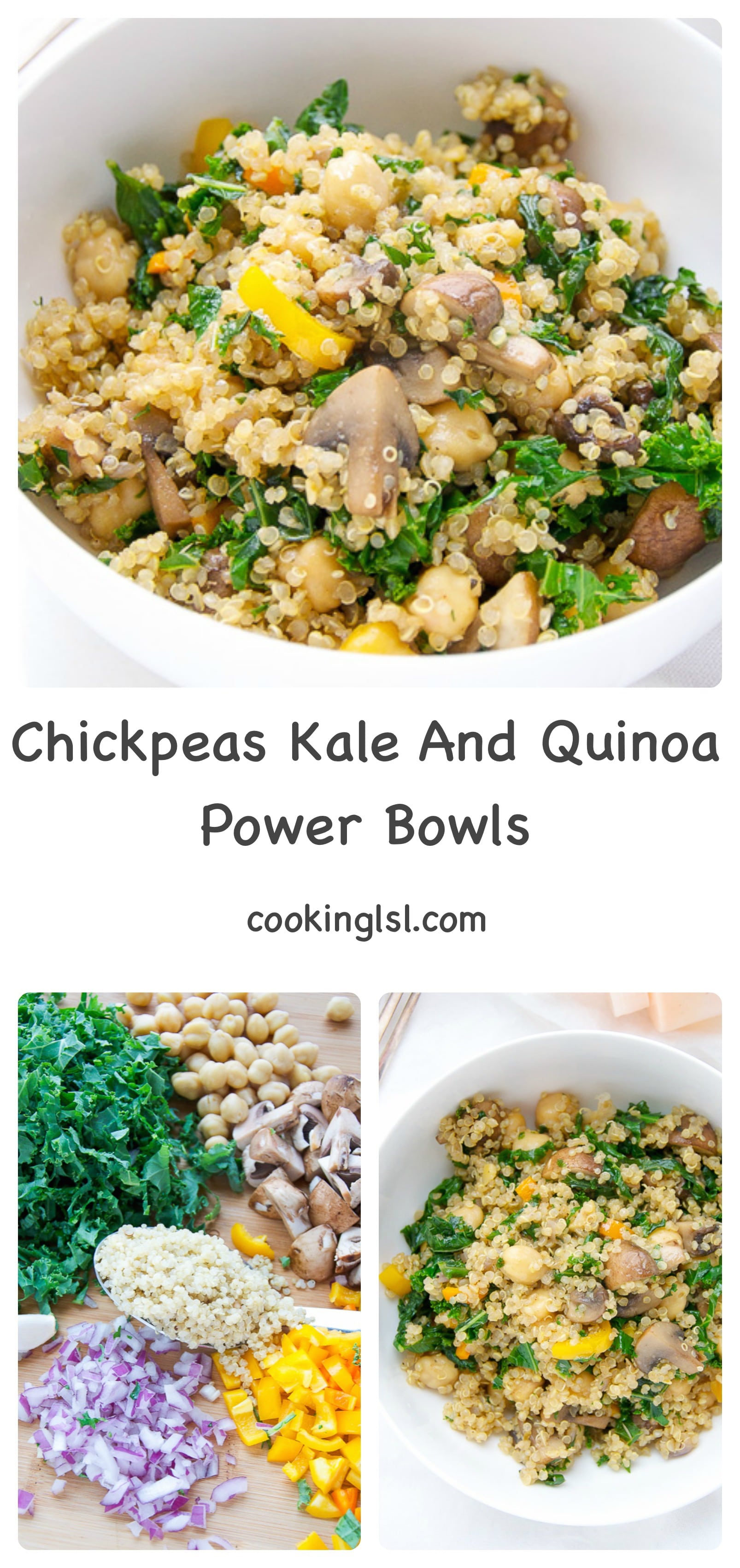 chickpeas-kale-quinoa-vegetable-nushroom-power-bowls