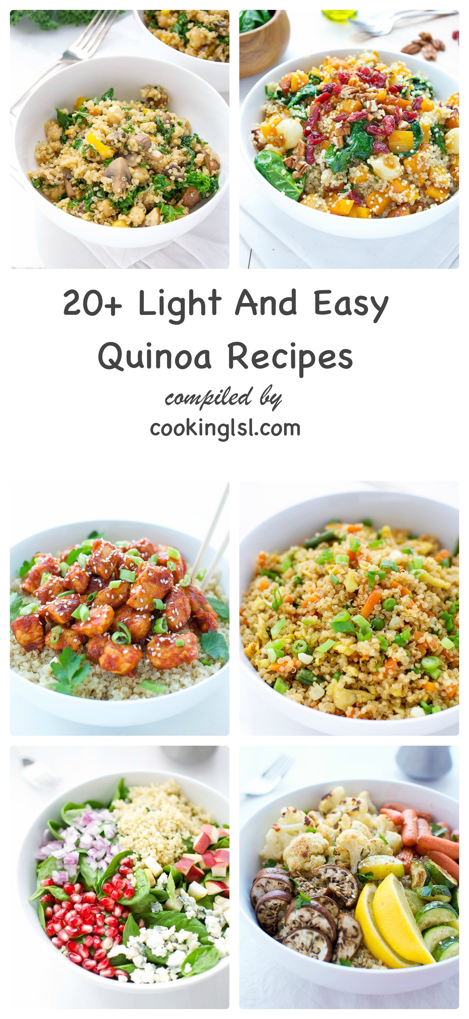 Light and easy recipes