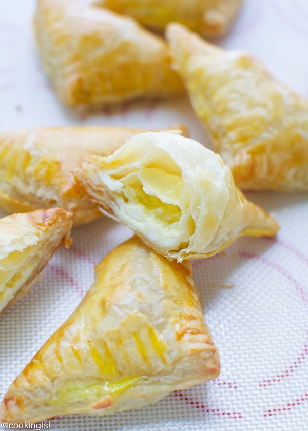 Puff Pastry Triangles