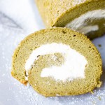 Matcha Green tea Cake Roll