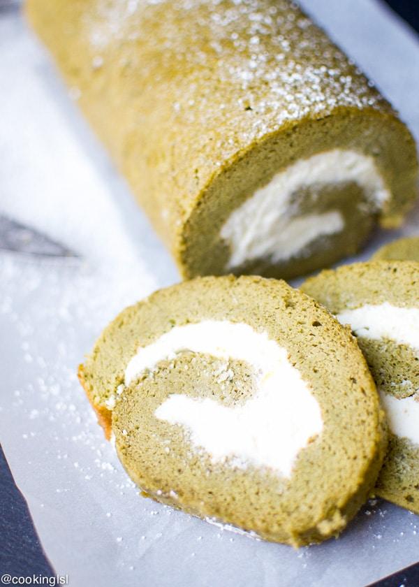 Matcha-Swiss-Roll-With-Whipped-Mascarpone-Cream
