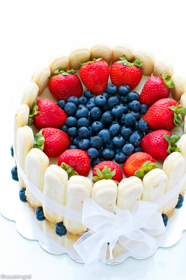 strawberry white chocolate blueberry charlotte 1-1