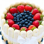 strawberry blueberry charlotte cake recipe