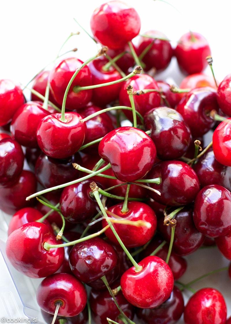fresh-cherries-meringue