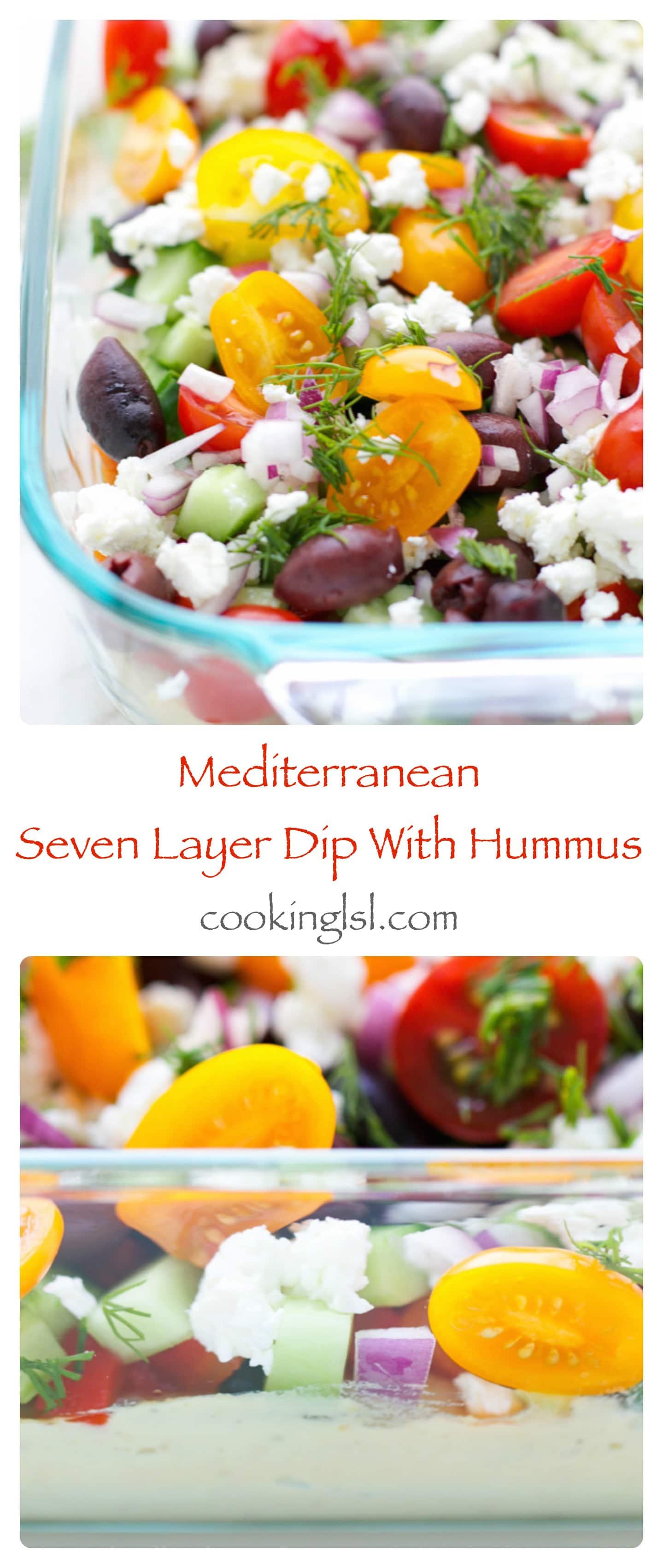Mediterranean Seven Layer Dip