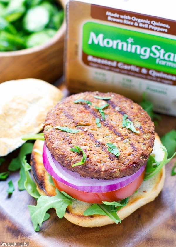 Roasted-Garlic-And-Quinoa-Burgers-morningstarfarms