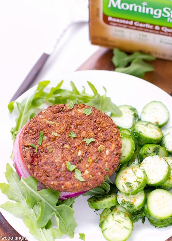 Roasted-Garlic-And-Quinoa-Burgers-morningstarfarms