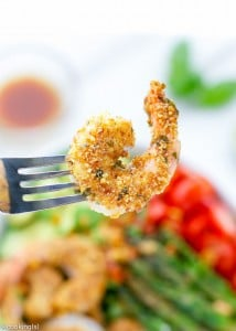 Almond-Sriracha-Crusted-Shrimp
