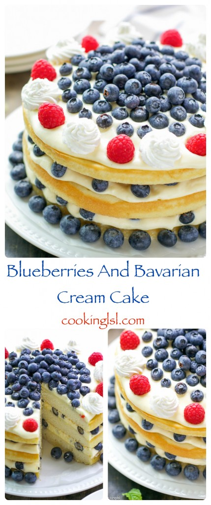 blueberry-bavarian-cream-yellow-layer-cake-summer