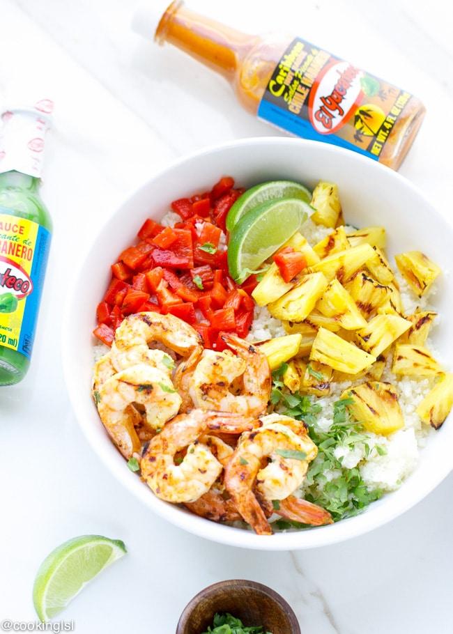 Food 1 2016 7 26 Shrimp Pineapple And Pepper Stir Fry >> Caribbean Spicy Shrimp And Cauliflower Rice