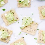 feta-guacamole-dip-avocado-atrisan-nut-thins