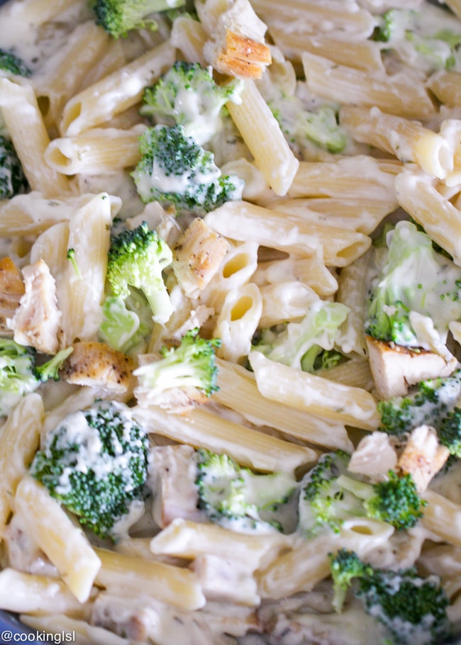 Chicken And Broccoli Pasta Bake Recipe-4779