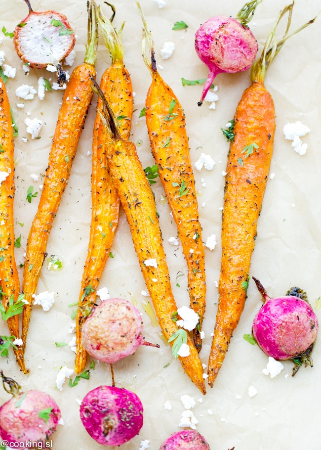 roasted-carrots-radishes-summer-savory