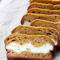 cream cheese filled pumpkin bread recipe