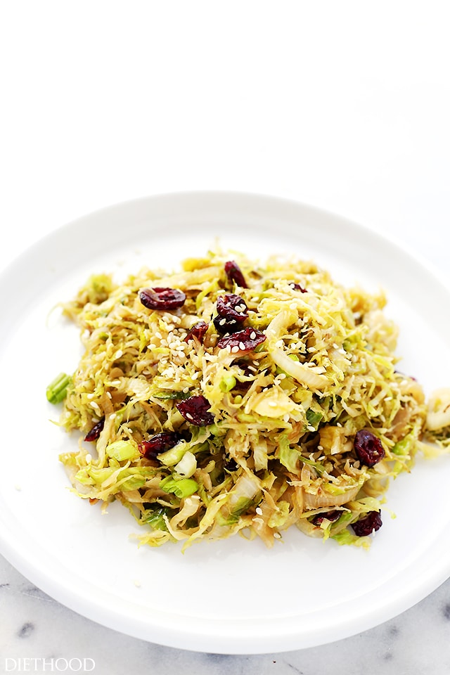 Brussels-Sprouts-with-Cranberries