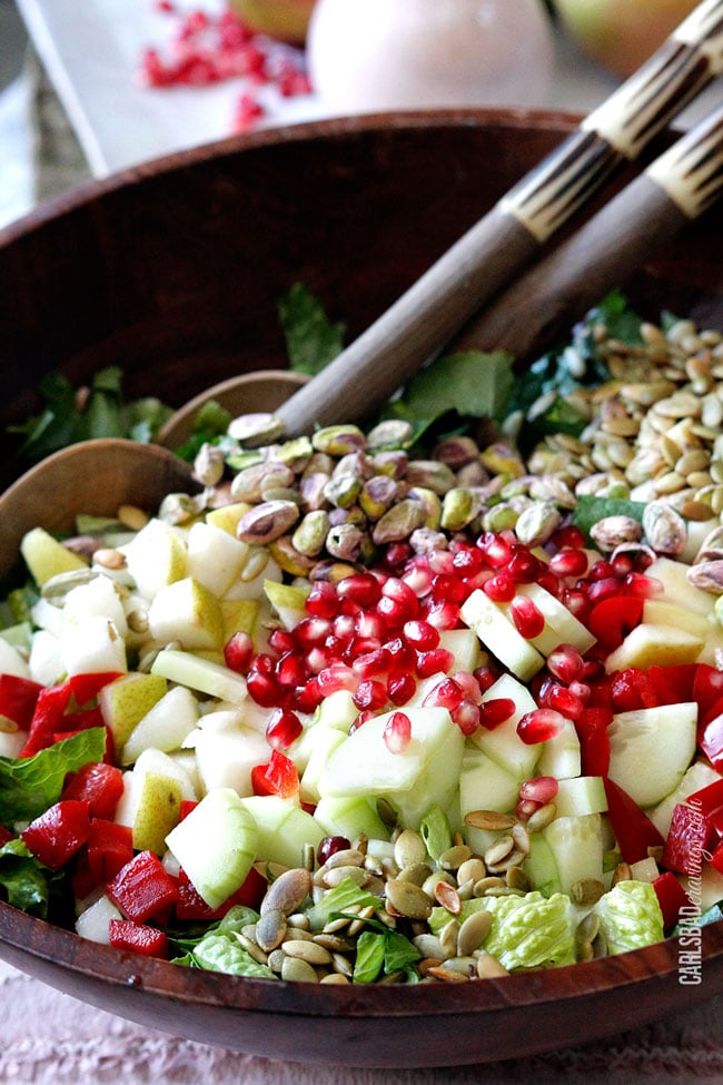 POMEGRANATE-PEAR-PISTACHIO-SALAD-WITH-CREAMY-POMEGRANATE-DRESSING