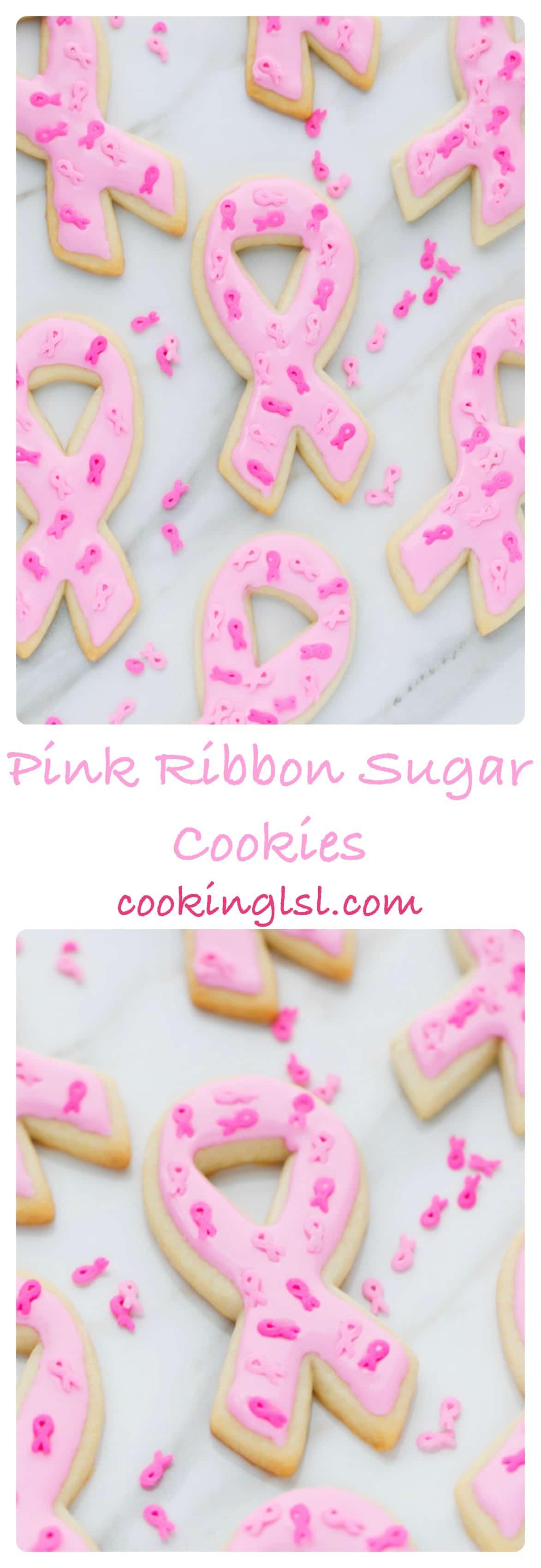 Pink-Ribbon-Sugar-Cookies -Breast-Cancer-Awareness