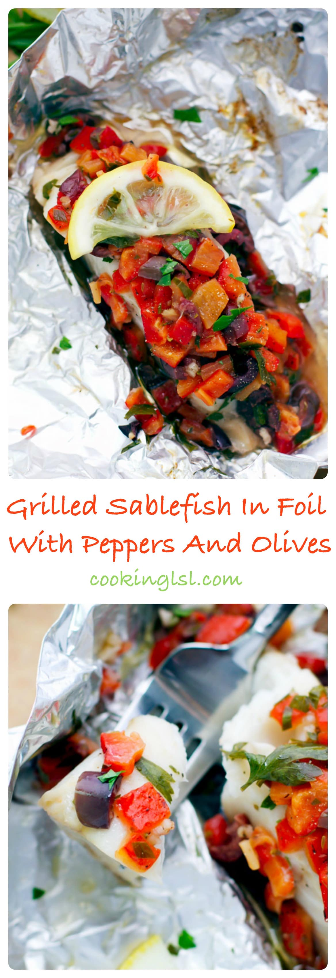 sablefish-foil-peppers-olives-15 minute