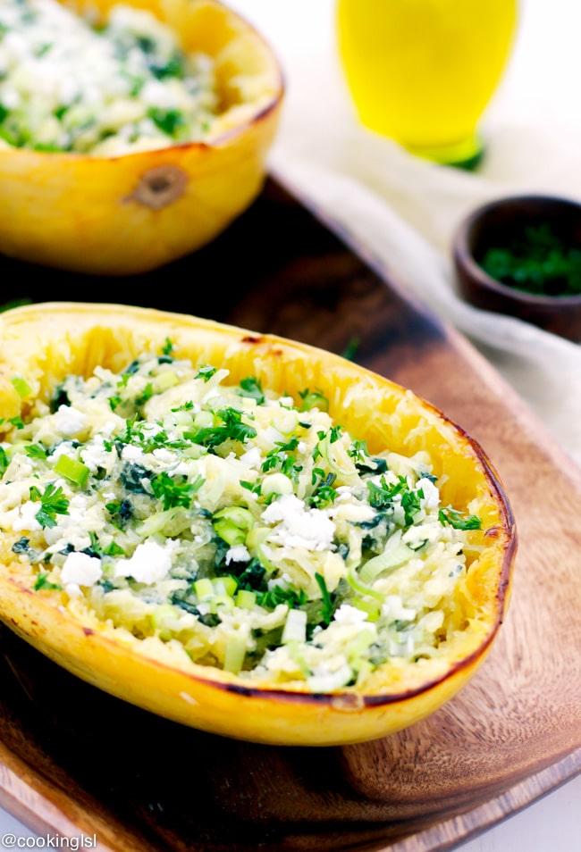 spinach-feta-spaghetti-squash-low-fat-gluten-free