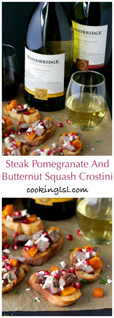 WOODBRIDGE-WINES-BUTTERNIT-SQUASH-POMEGRANATE-STEAK-CROSTINI