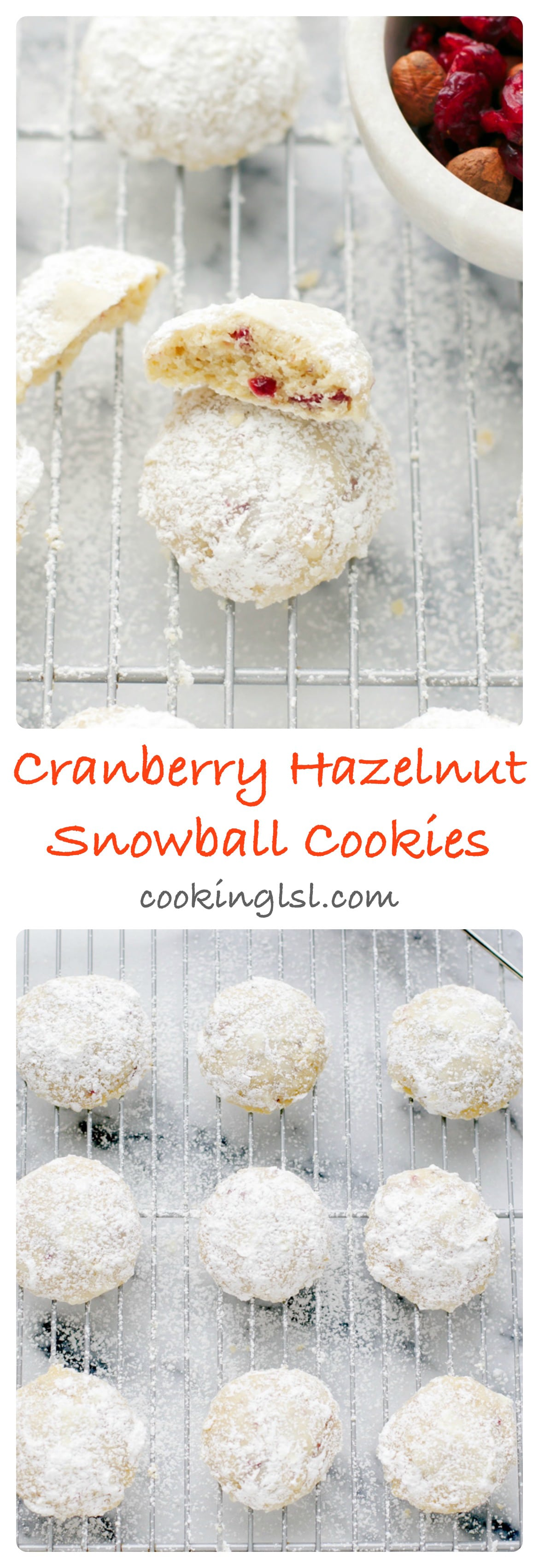 cranberry-hazelnut-snowball-cookies