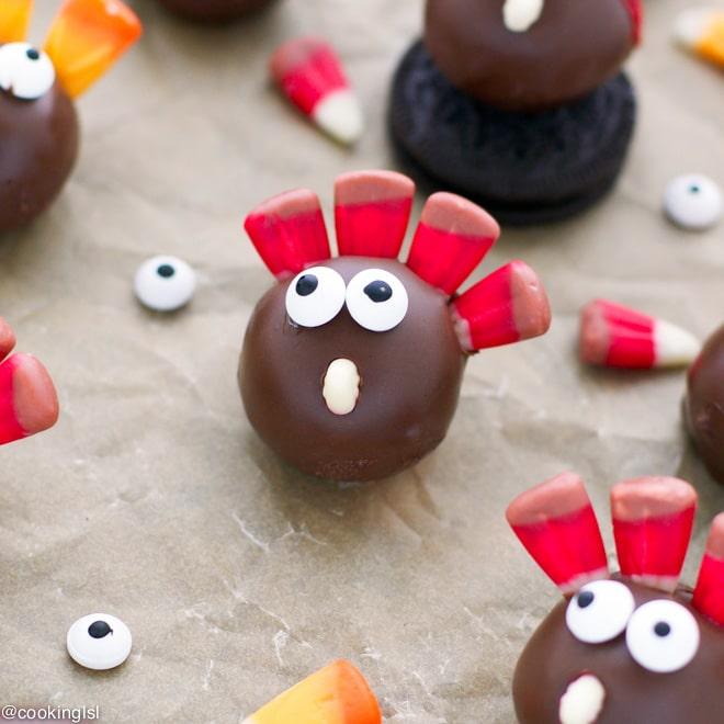 oreo-cookie-balls-thanksgiving-turkey-recipe
